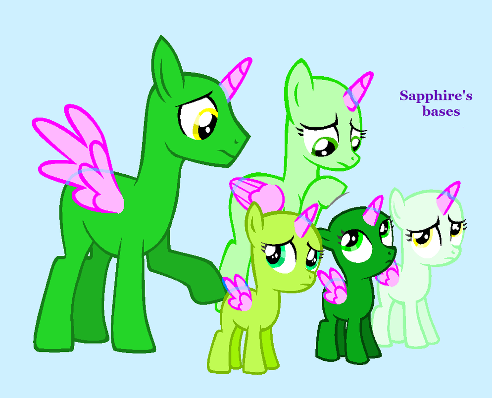 mlp base:worried family by SapphireScarletta on DeviantArt