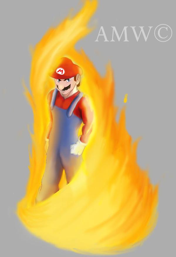 Mario - Fire Control by AveryMoneco