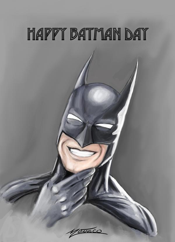 Batman- Picture day by AveryMoneco