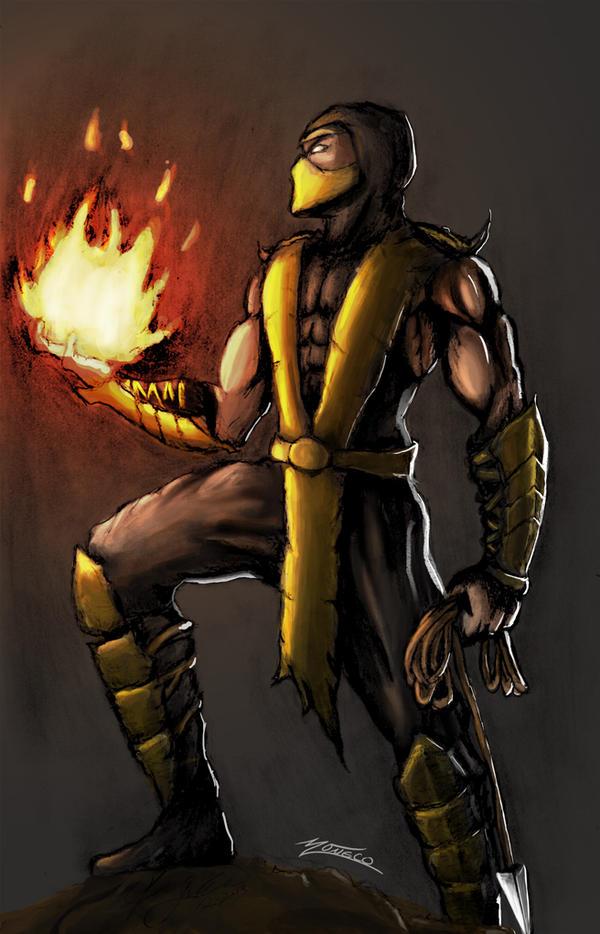 I am Scorpion by AveryMoneco