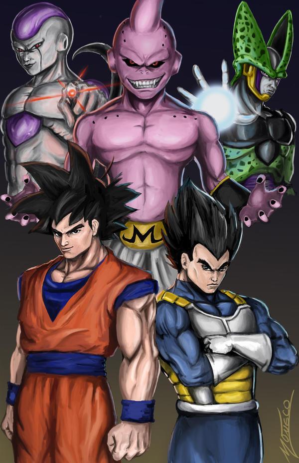 Dragonball Z- Sagas by AveryMoneco