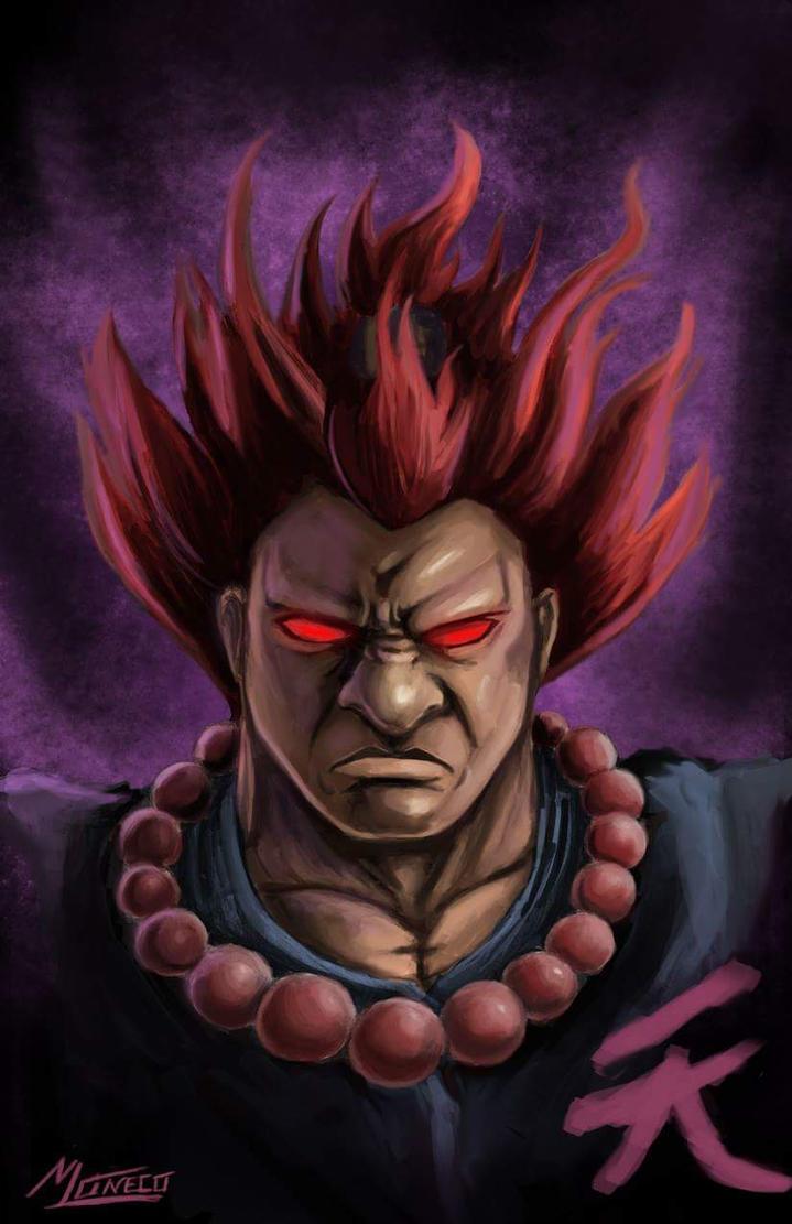 Akuma Portrait by AveryMoneco
