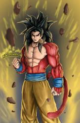 Goku Ssj4 by AveryMoneco