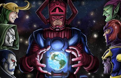 Marvel Villains by AveryMoneco