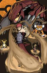 Gaara the Pokemon Master of the Sand by AveryMoneco