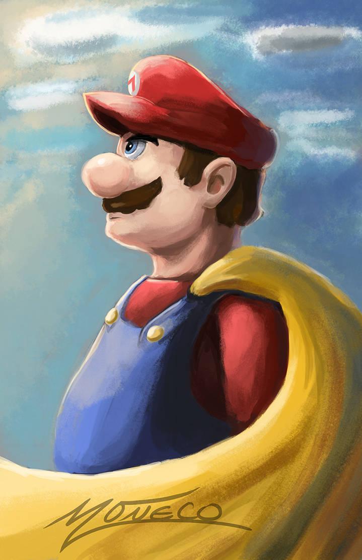 Super Mario Speedpainting by AveryMoneco