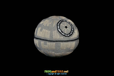 Death Star Amigurumi FROGandTOAD by FROG-and-TOAD