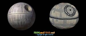 Amigurumi Death Star (with Original) FROGandTOAD
