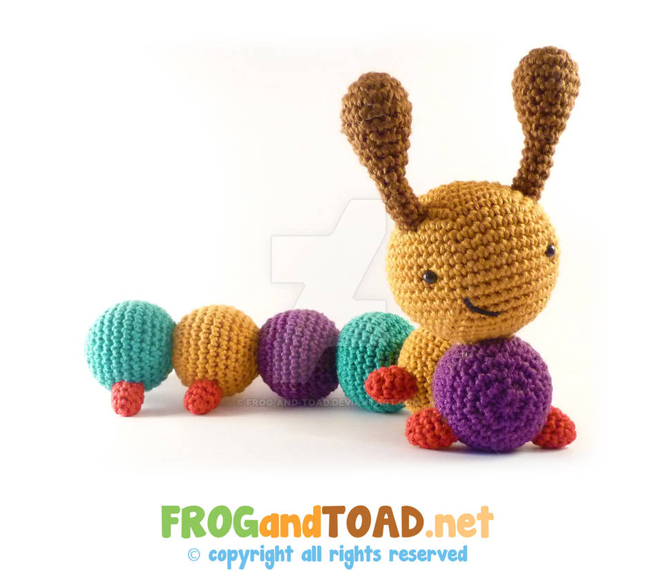 CHARLES La Chenille - FROGandTOAD by FROG-and-TOAD