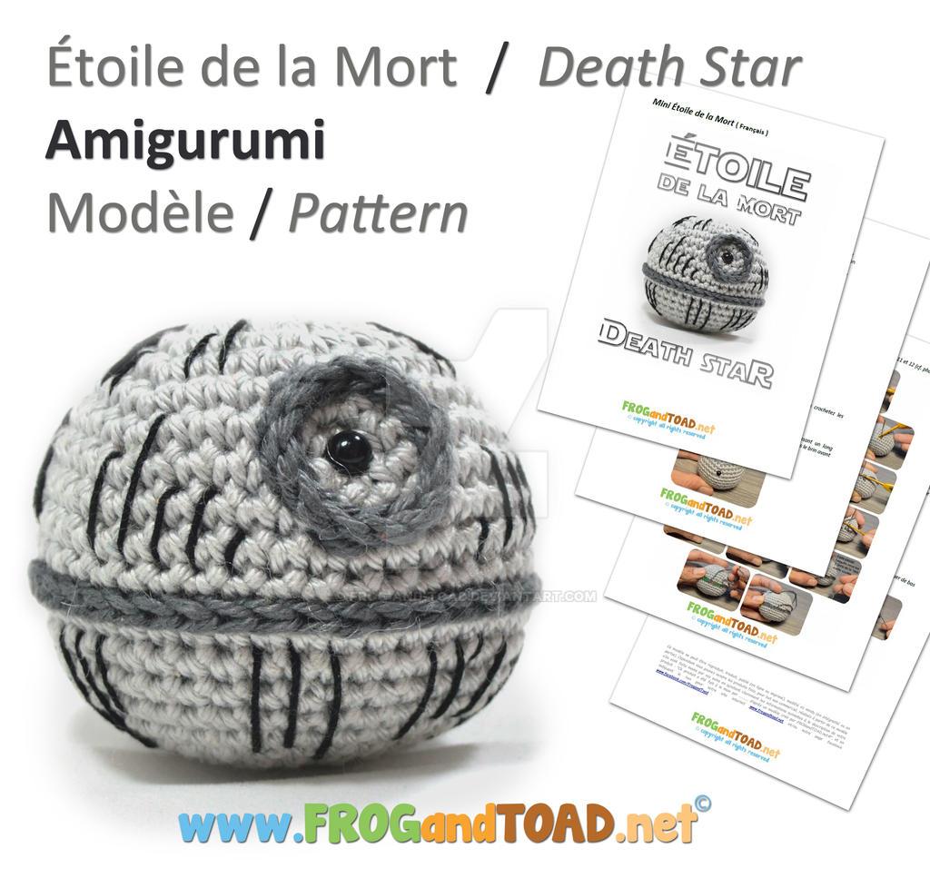 Death Star Amigurumi Pattern : DeathStar Amigurumi Pattern FROGandTOAD Creations by FROG ...