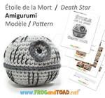 DeathStar Amigurumi Pattern FROGandTOAD Creations