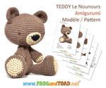 TEDDY Le Nounours Amigurumi Pattern