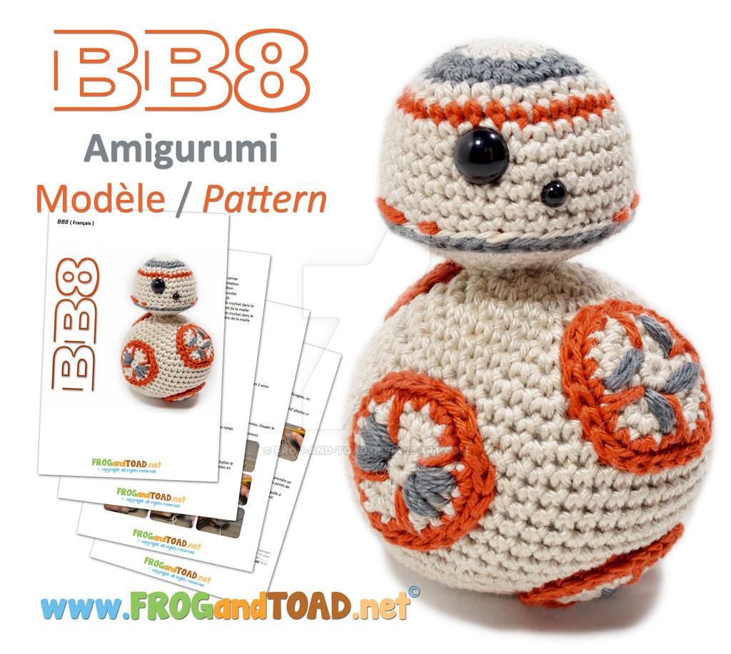 BB8 Amigurumi Pattern FROGandTOAD Creations