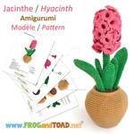 Jacinthe Hyacinth Amigurumi Pattern