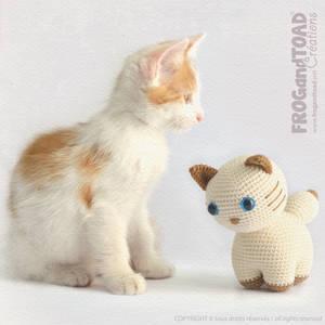 Chat - Chaton - Cat - Kitty - Amigurumi Crochet