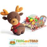 Renne Reindeer Amigurumi Pattern by FROG-and-TOAD
