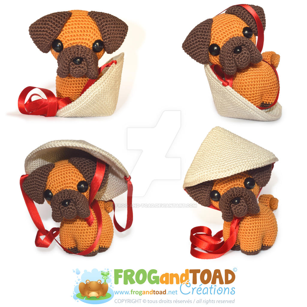 PING PUG - Chien Zodiaque Zodiac Dog by FROG-and-TOAD