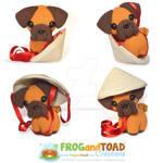 PING PUG - Chien Zodiaque Zodiac Dog
