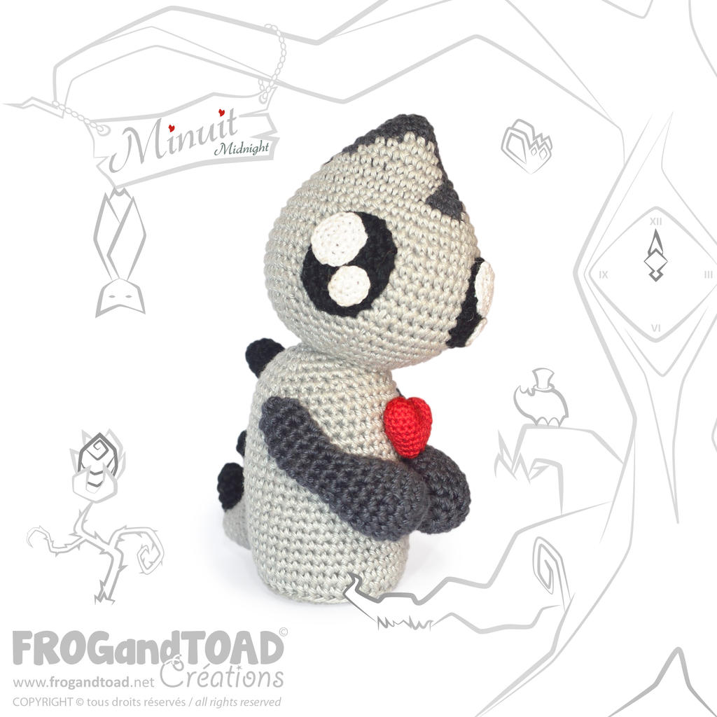 Minuit the Midnight Demon ( Monstre / Monster ) by FROG-and-TOAD