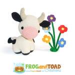 Cow Amigurumi FROGandTOAD Creations