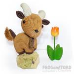 Goat Amigurumi Crochet FROGandTOAD Creations