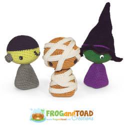 Halloween Amigurumi Crochet FROGandTOAD Creations