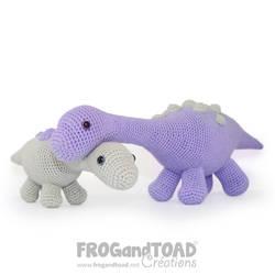 Sauropod Amigurumi FROGandTOAD Creations