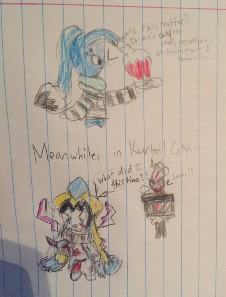 LAZAPHY! (mini-comic thingy) by SuperLunala