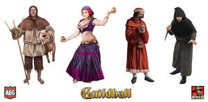 Guildhall 1 Characters