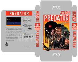Predator Atari Box template