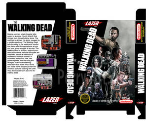 The Walking Dead Ultra NES Boxtemplate Mperry 2015