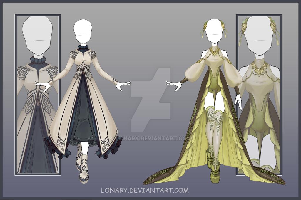 [Close] Design adopt_158-159 by Lonary