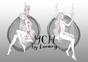 [Close] YCH Auction: 95-96 by Lonary