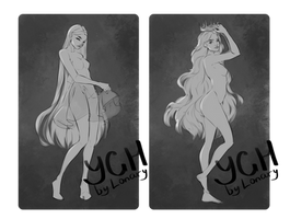 [Close] YCH Auction: 104-105 by Lonary