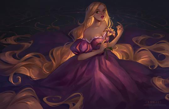 Rapunzel. Disney
