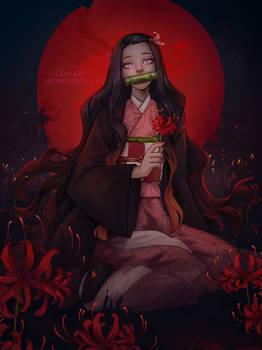 Kamado Nezuko. Kimetsu no Yaiba
