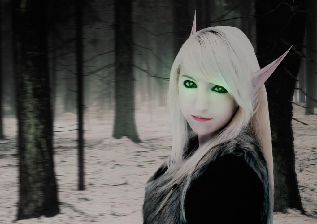 Blood Elf by hyenaskate