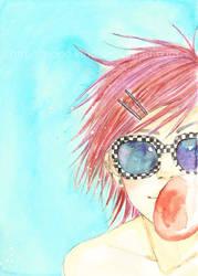 Bubble gum by mond-kind