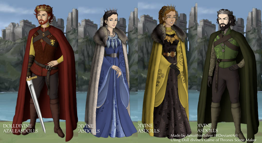 The Founders of Hogwarts by AshenLights on DeviantArt