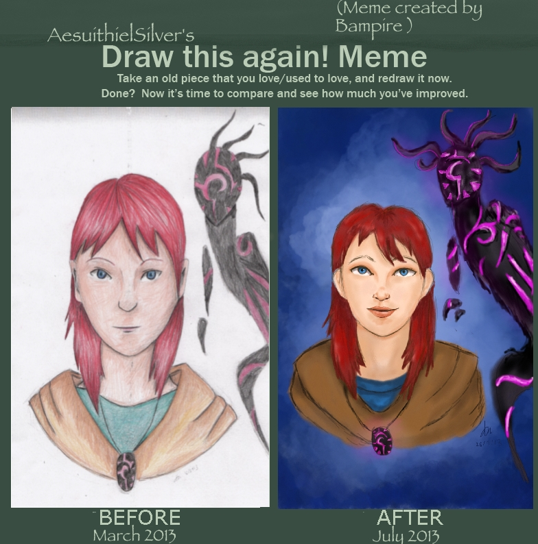 Draw This Again Meme by AesuithielSilver