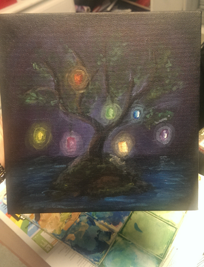 Tree of Lights by AesuithielSilver