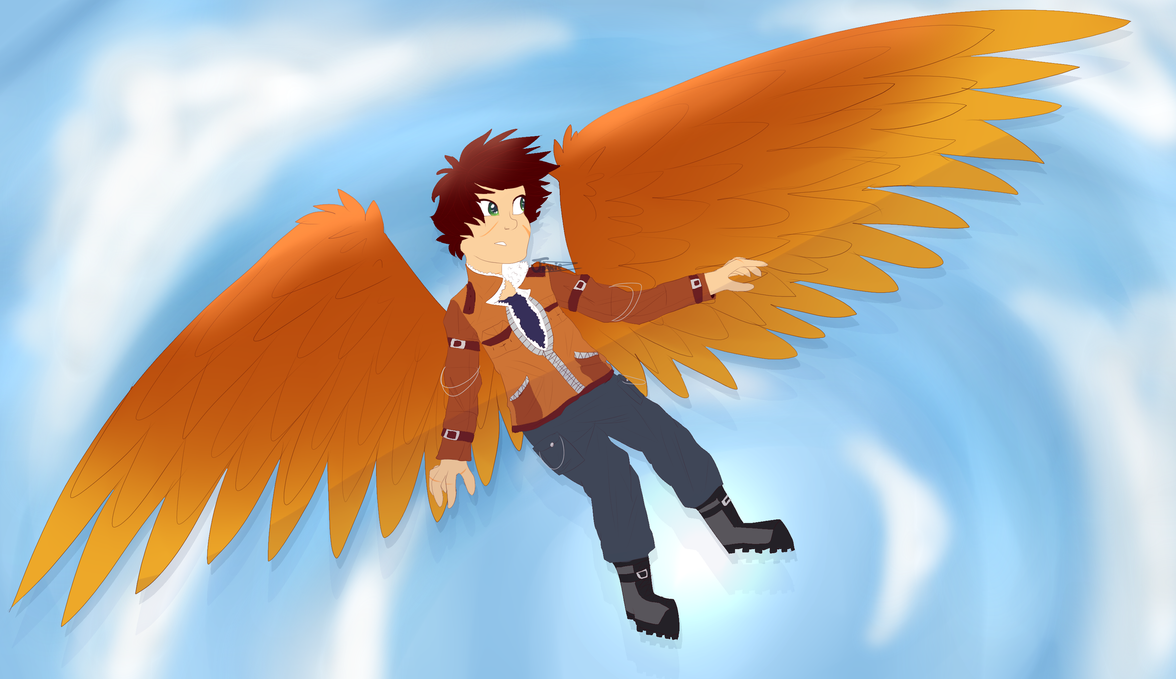 Flying :.Contest Entry.: by JinxieZ