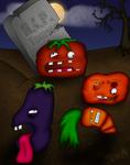 Zombie vegetables