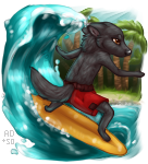 Riding the tide by sotee