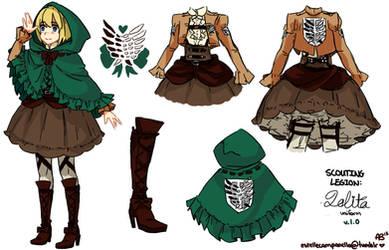 Scouting Legion Lolita-Inspired Uniform