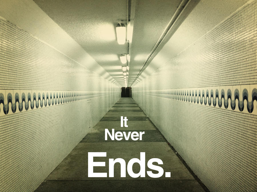 Image result for never ends