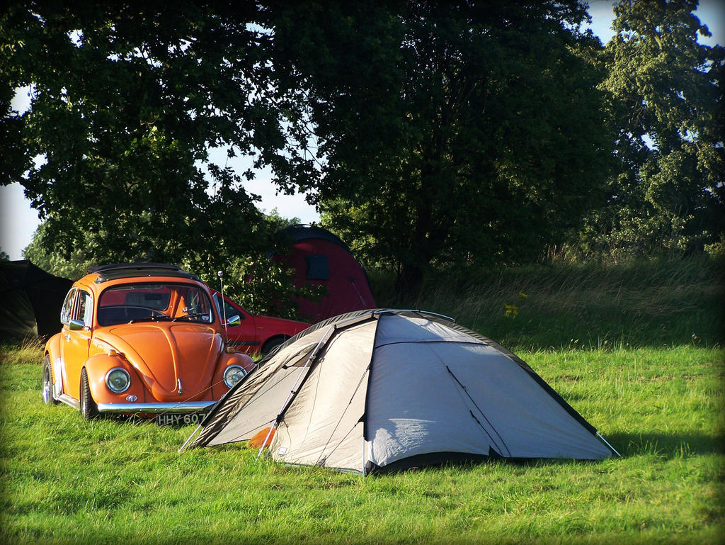 campsite and camping