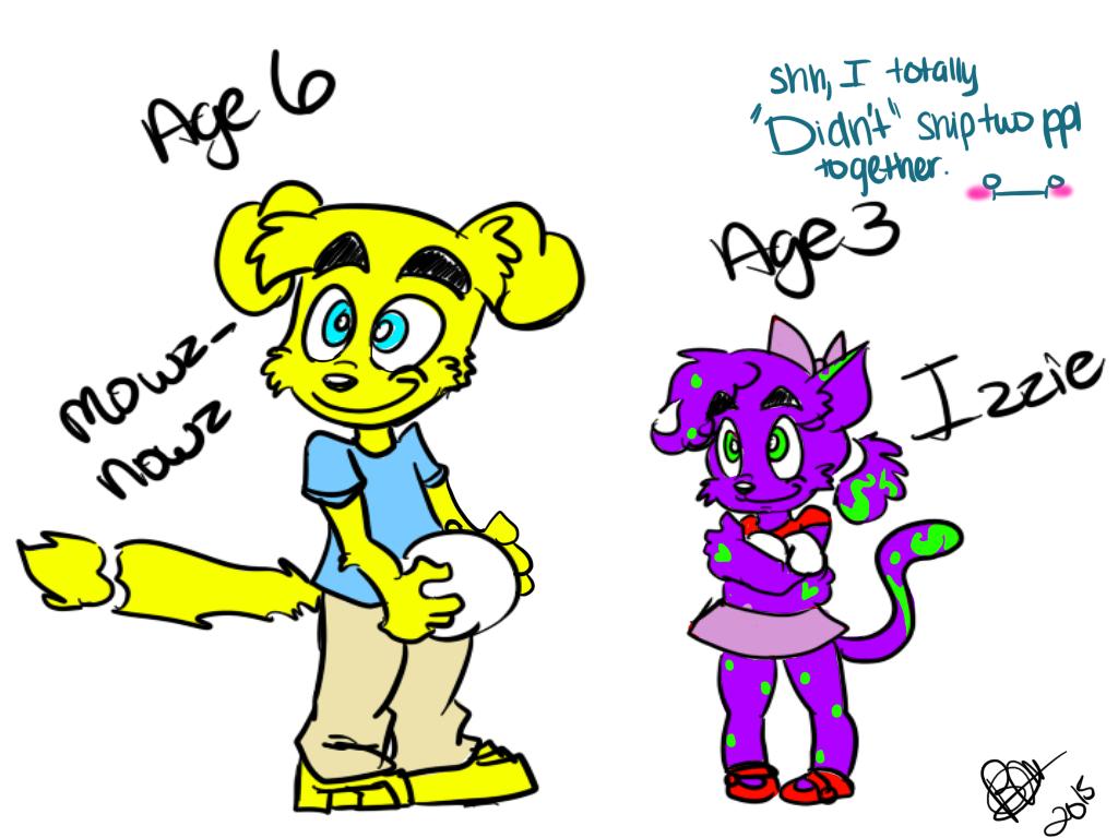Animalmania New Gen: Meowz and Powz-Bowz Kids by BebeMonkey