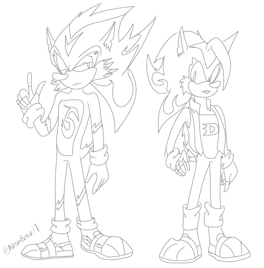 Spike and Drex by NeshBearWorks