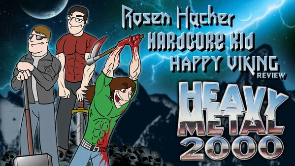 Heavy Metal 2000 Title Card by Headbanger14